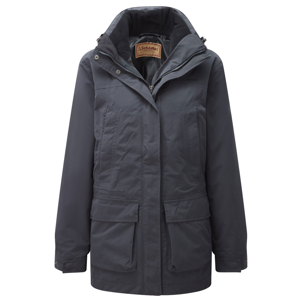 Uppingham 3 in 1 Coat Midnight