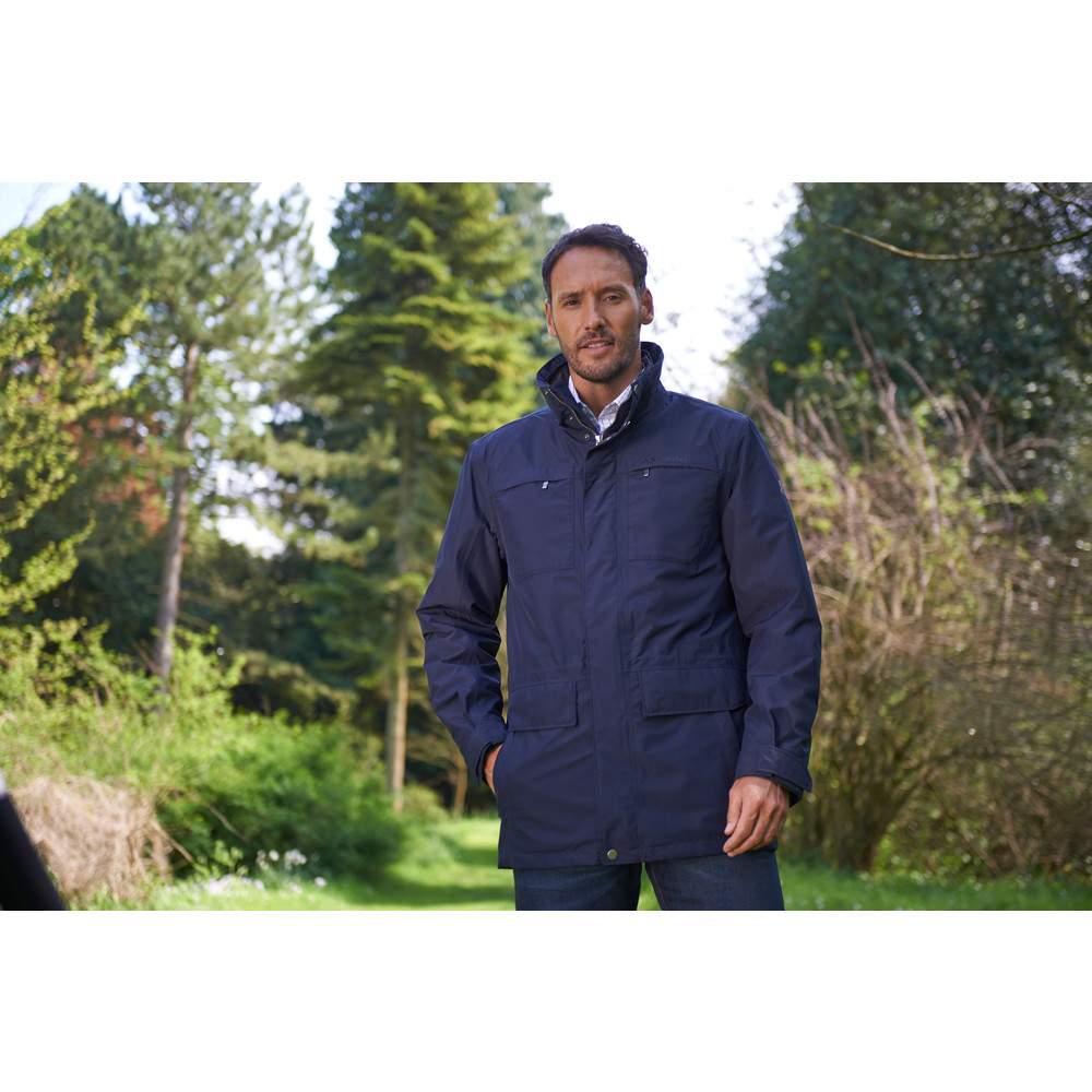 Pilton Jacket Navy Blue