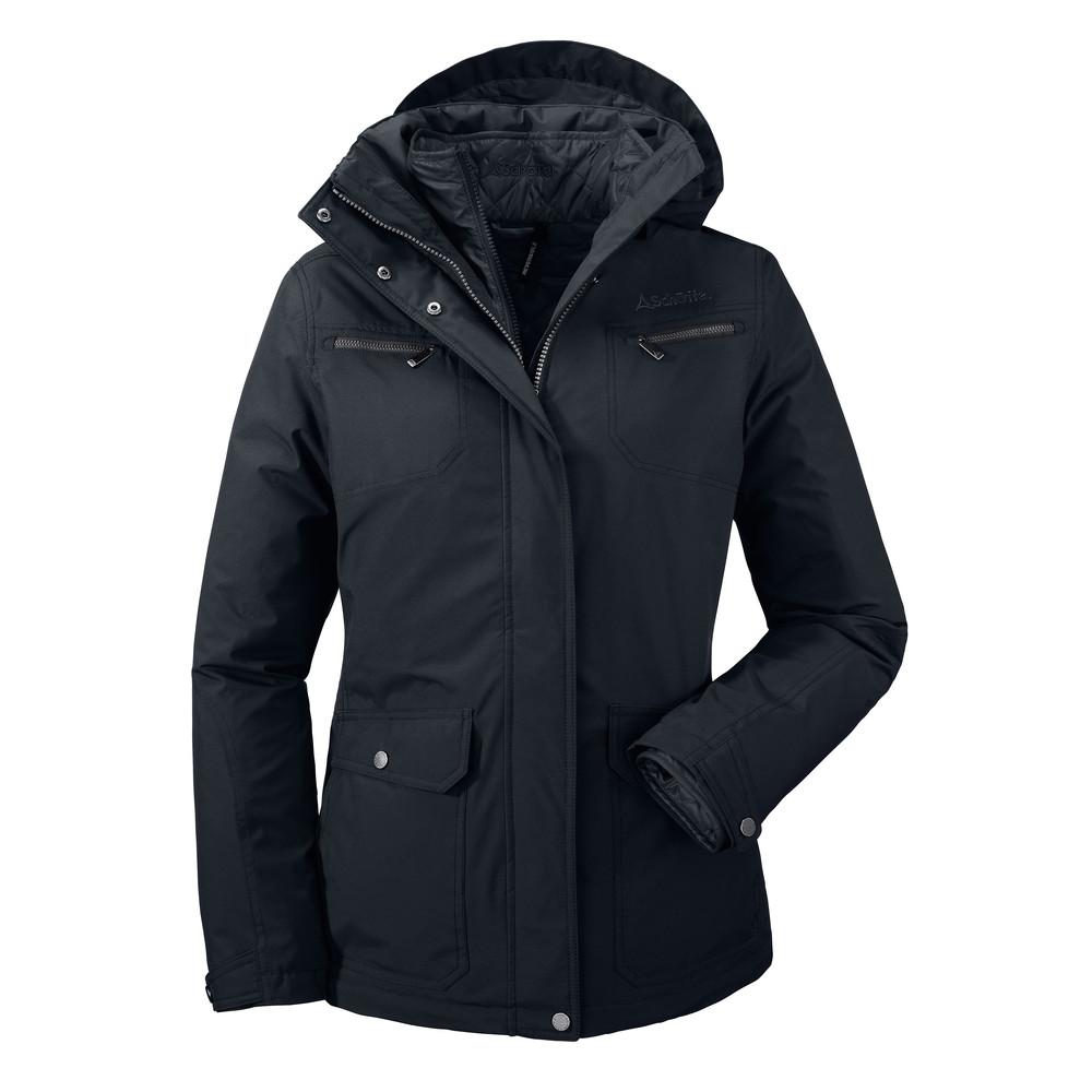 Carie 3 in 1 Coat Navy Blue