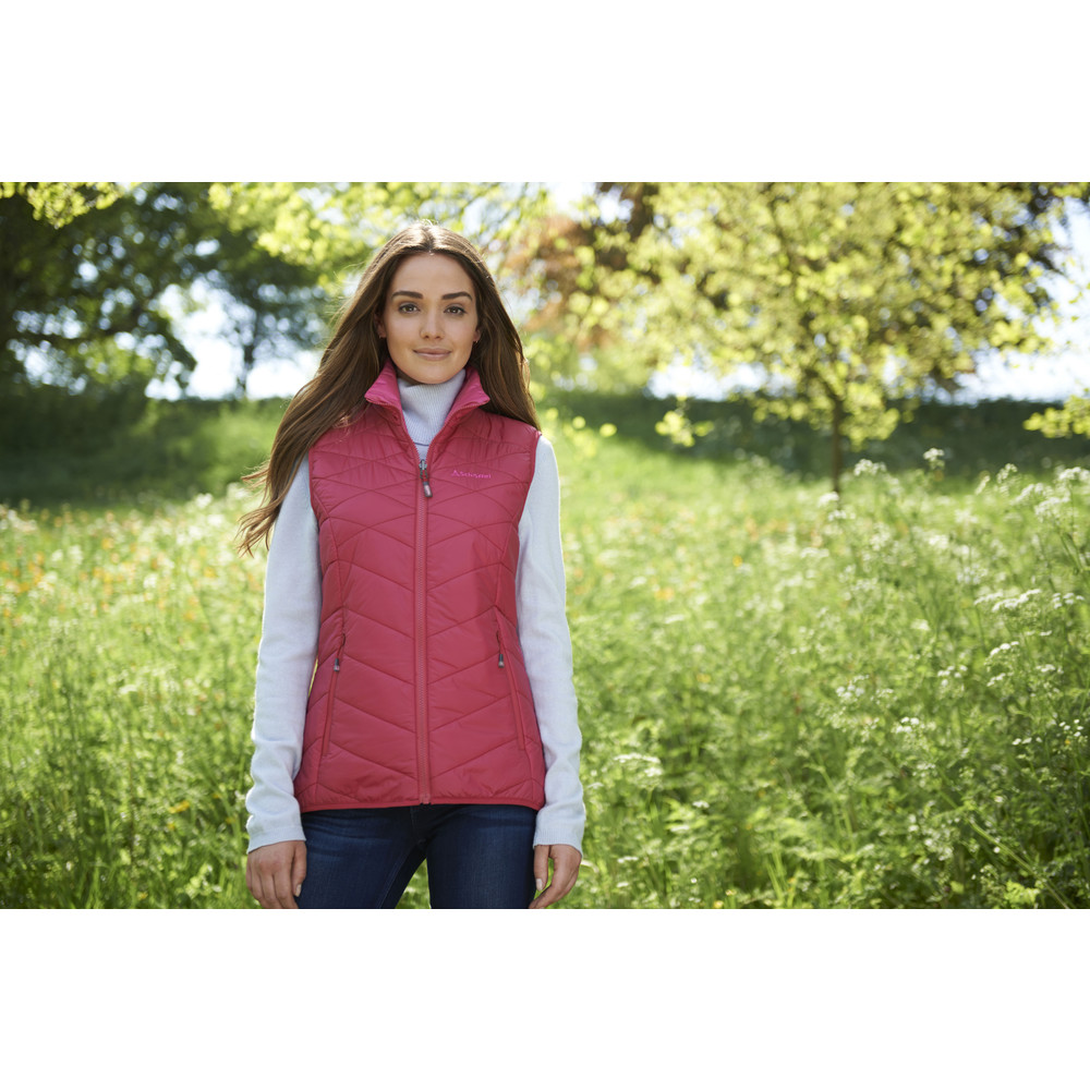 G'staad Gilet Cerise