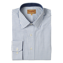 Schoffel Country Cambridge Shirt in Navy