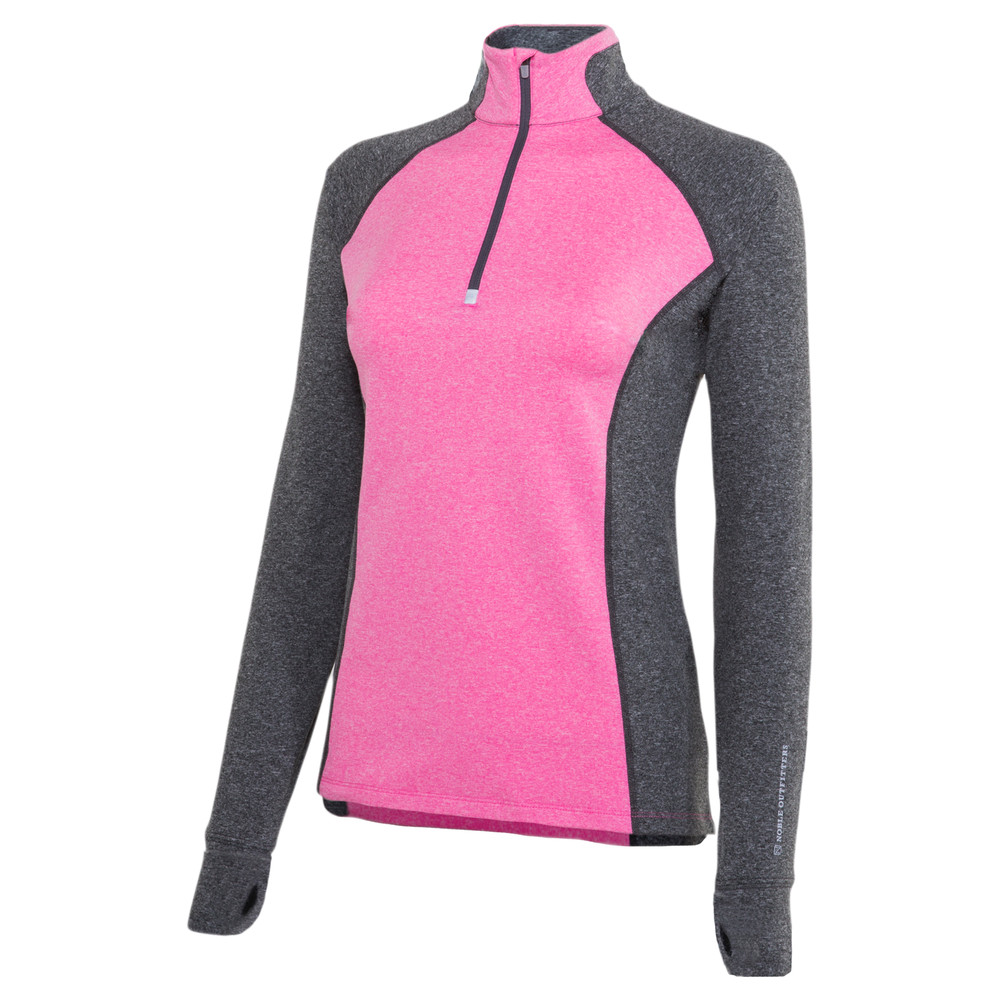 Athena 1/4 Zip French Pink