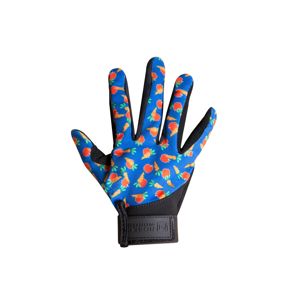 Kids Perfect Fit Gloves Apples and Carrots