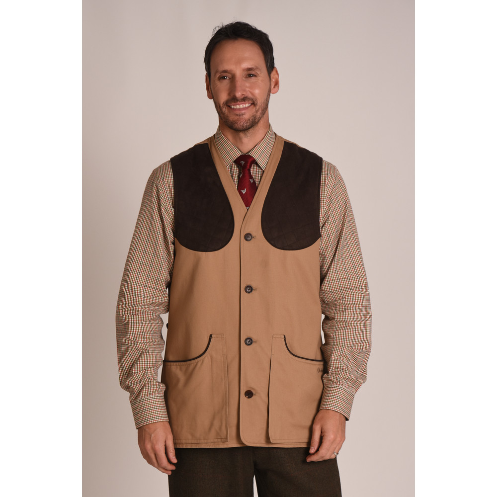 All Seasons Shooting Vest Camel