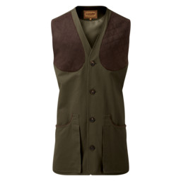 Schoffel Country All Seasons Shooting Vest in Dark Olive