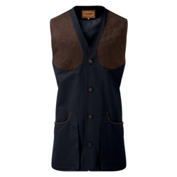 Schoffel Country All Seasons Shooting Vest in Navy