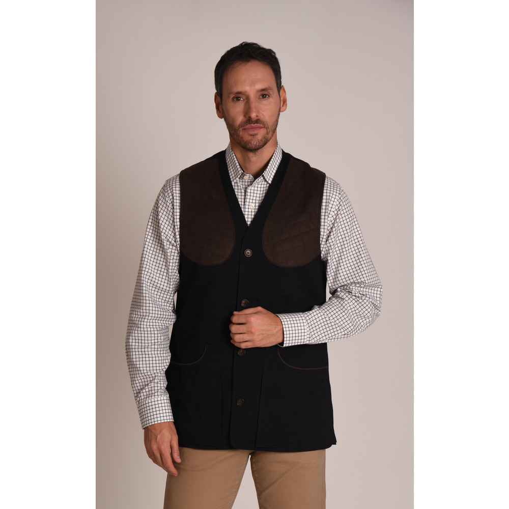 All Seasons Shooting Vest Navy