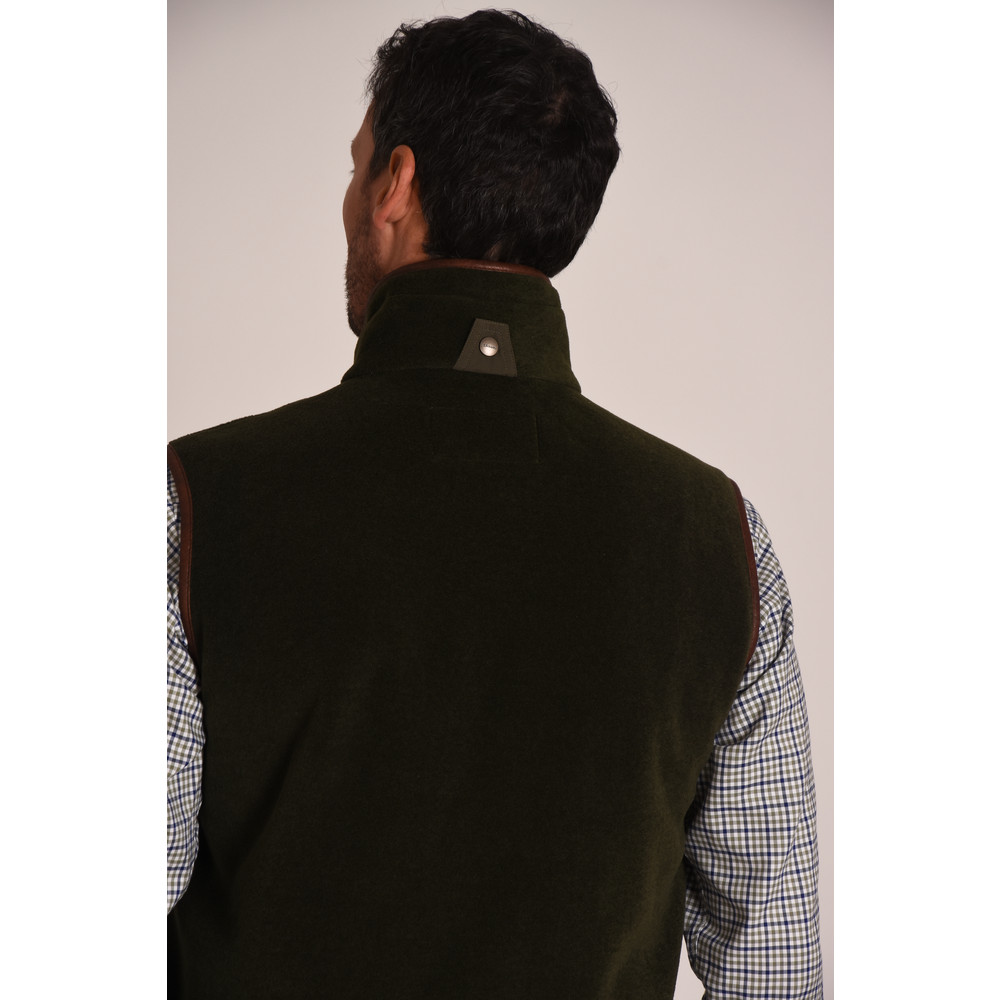 Oakham Fleece Gilet Hunter