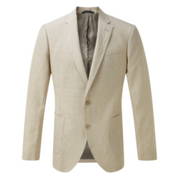 Schoffel Country Linen Blazer in Stone