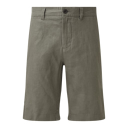 Schoffel Country Linen Short in Khaki