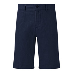 Schoffel Country Linen Short in Navy