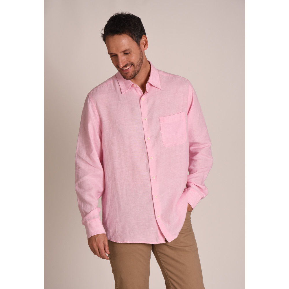 Thornham Classic Shirt Pink
