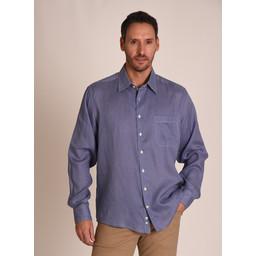Thornham Classic Shirt Navy Dot