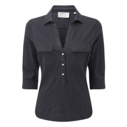 Schoffel Country Marina Jersey Shirt in Navy