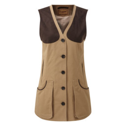 Ladies All Seasons Shooting Vest Camel