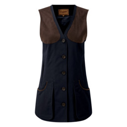 Ladies All Seasons Shooting Vest Navy