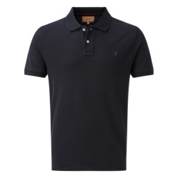 Schoffel Country Padstow Polo Shirt in Charcoal