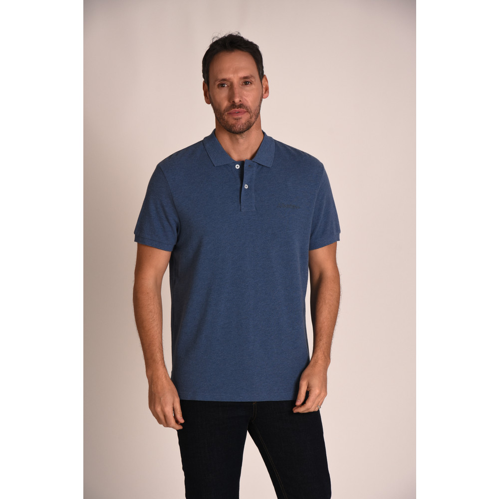 Padstow Polo Shirt Denim