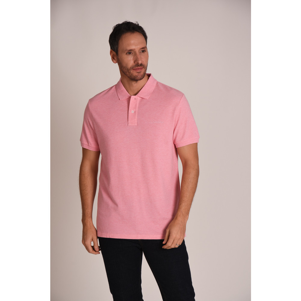 Padstow Polo Shirt Pink