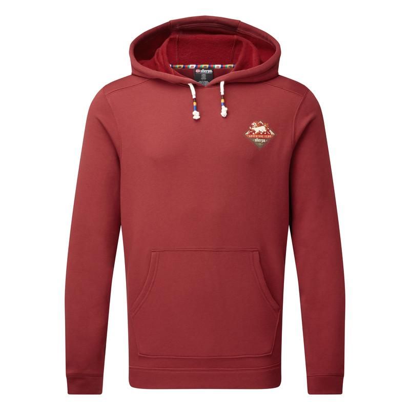 Jaaro Pullover Hoodie - Potala Red