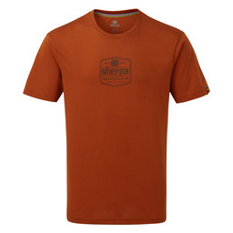 Sherpa Adventure Gear Tashi Tee                 in Teej Orange
