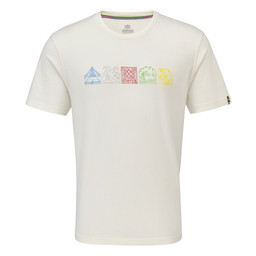 Sherpa Adventure Gear Lungta Tee in Katha White
