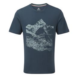 Sherpa Adventure Gear Namche Tee                in Neelo Blue