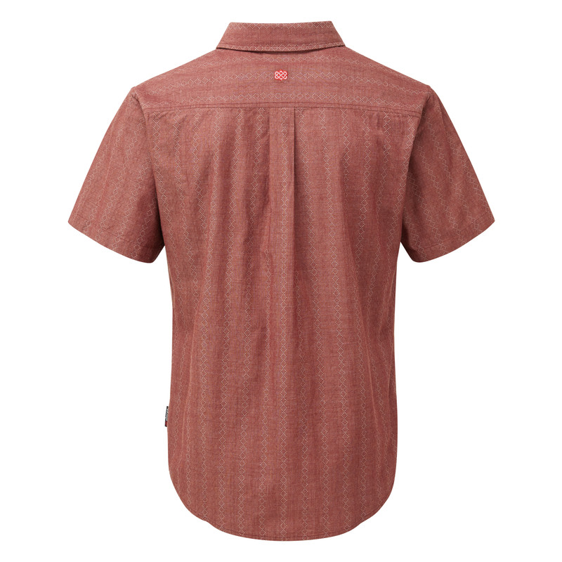 Arjun Short Sleeve Shirt - Potala Red