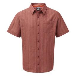 Sherpa Adventure Gear Arjun Short Sleeve Shirt  in Potala Red