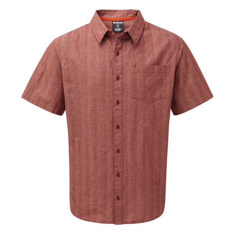 Sherpa Adventure Gear Arjun Short Sleeve Shirt  in Potala Red