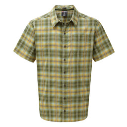 Sherpa Adventure Gear Manang Short Sleeve Shirt in Koshi Green