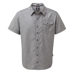 Sherpa Adventure Gear Lokta Short Sleeve Shirt  in Kharani