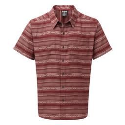 Sherpa Adventure Gear Bhaku Shirt               in Potala Red