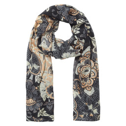 Sherpa Adventure Gear Zehma Scarf               in Black Tibetan Print