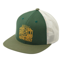 Sherpa Adventure Gear Yeti Trucker Hat          in Mewa Green