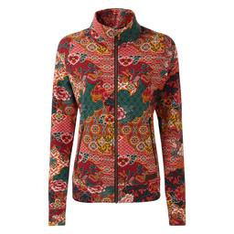 Zehma Jacket              Ani Tibetan Print