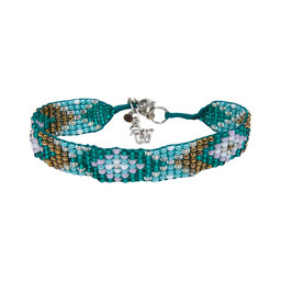 Sherpa Adventure Gear Mayalu Bhutan Bracelet in Rathna Green
