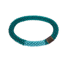 Mayalu Block Roll on Bracelet Rathna Green