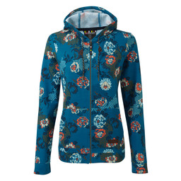 Sherpa Adventure Gear Meytho Full Zip Hoodie    in Raja Blue