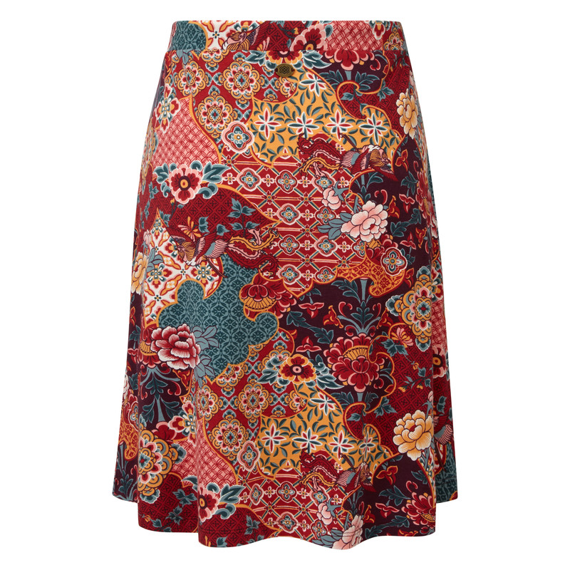 Padma Skirt - Ani Tibetan Print