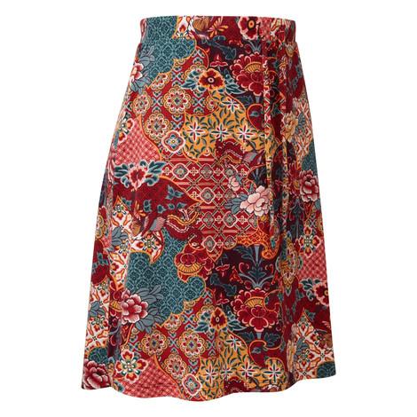 Sherpa Adventure Gear Padma Skirt               in Ani Tibetan Print