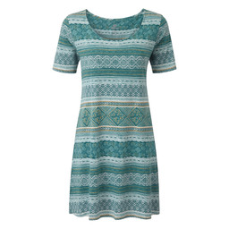 Sherpa Adventure Gear Kira Swing Dress          in Khola