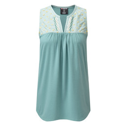 Sherpa Adventure Gear Maya Embroidery Sleeveless in Khola