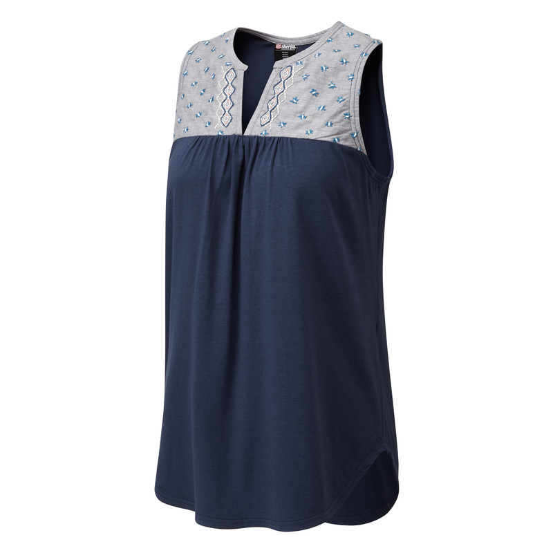 Maya Embroidery Sleeveless - Rathee