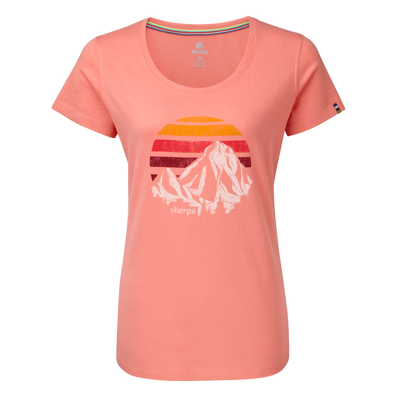 Suraj Tee - Mandala Pink