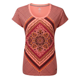 Sherpa Adventure Gear Kurta Tee                 in Mandala Pink