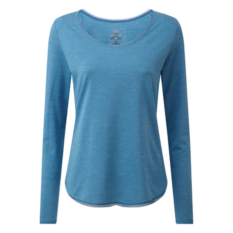 Sherpa Adventure Gear Valli Long Sleeve Tee     in Raja Blue
