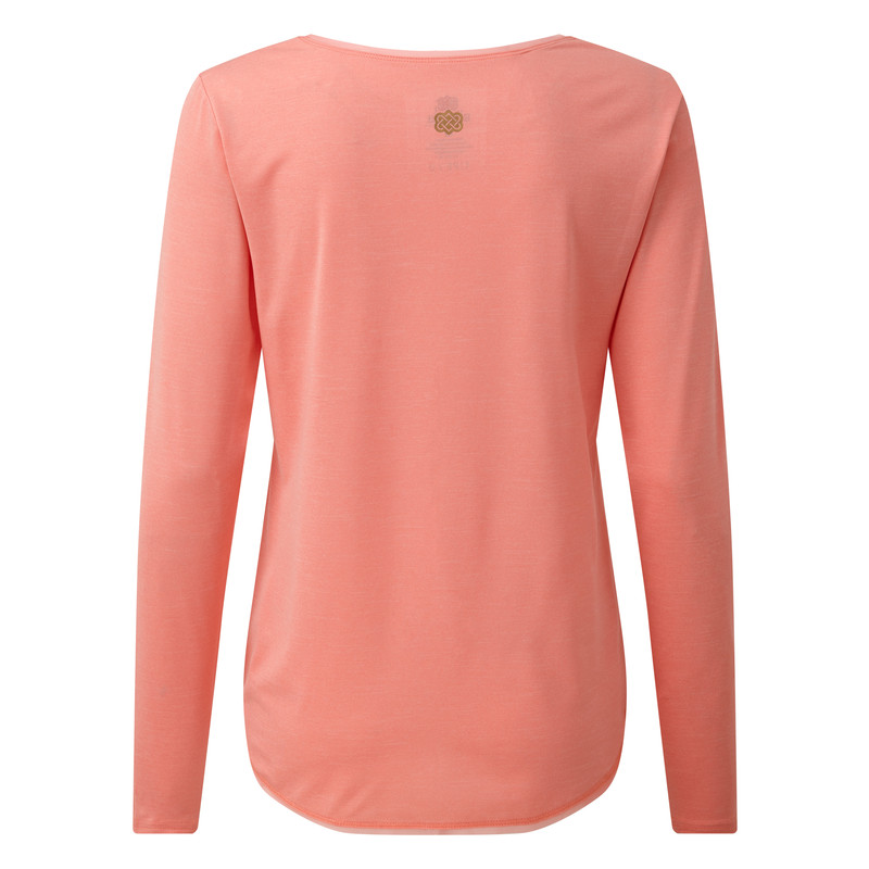 Valli Long Sleeve Tee - Mandala Pink