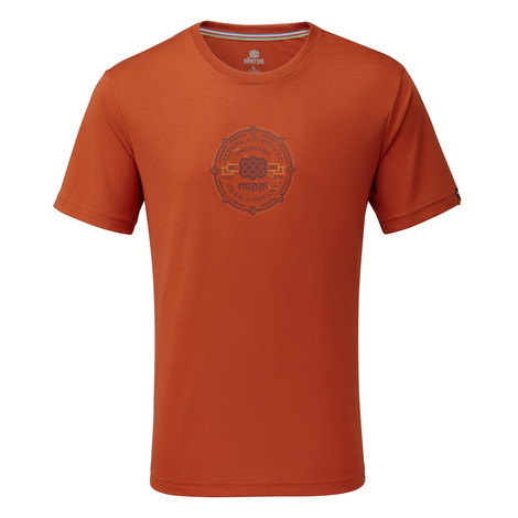 Sherpa Adventure Gear Kimti Tee                 in Teej Orange