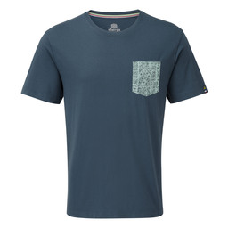 Sherpa Adventure Gear Durbar Pocket Tee         in Neelo Blue